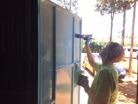 Painting the School