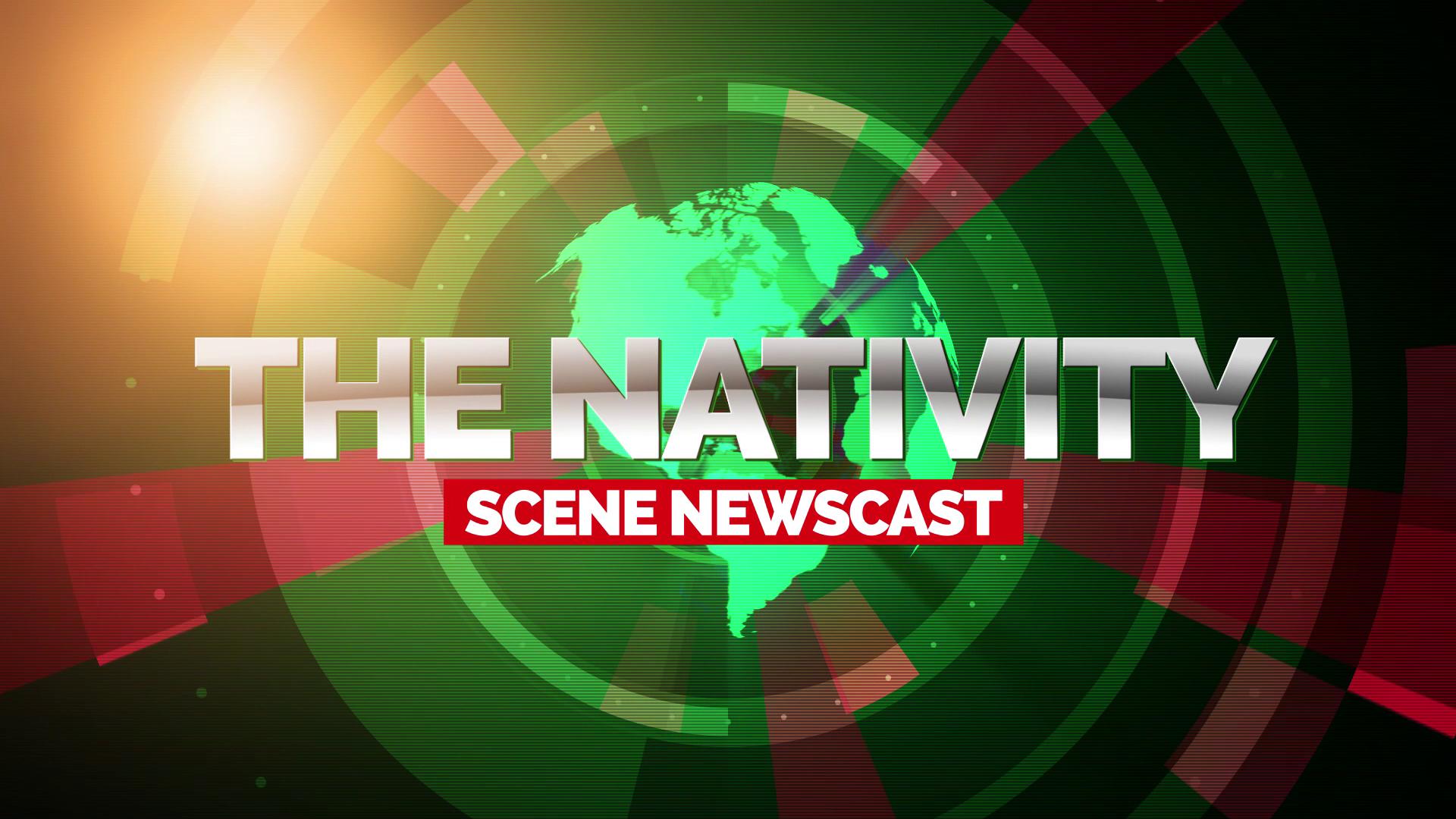 The Nativity Scene Newscast Image