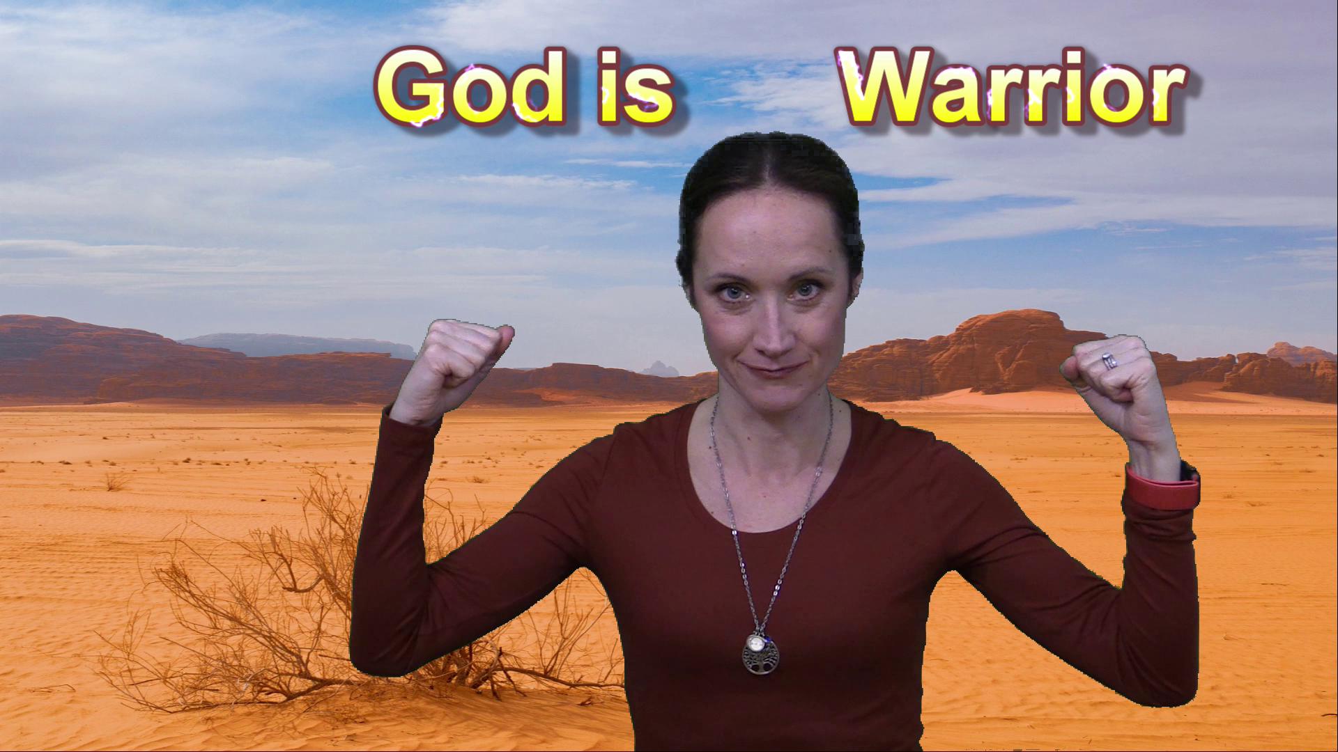 God is Warrior Image